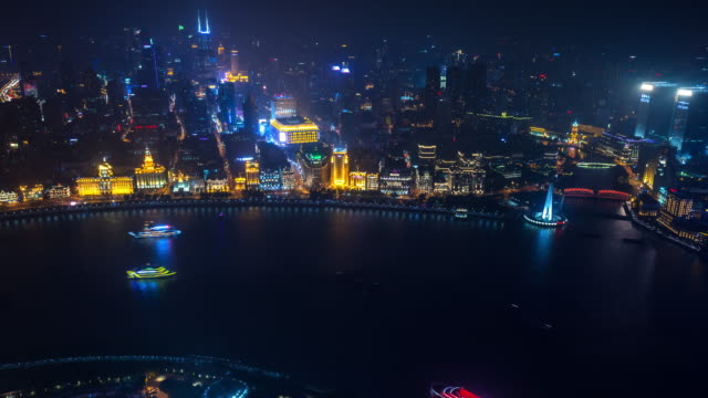 cityscape and river - river huangpu stock videos & royalty-free footage