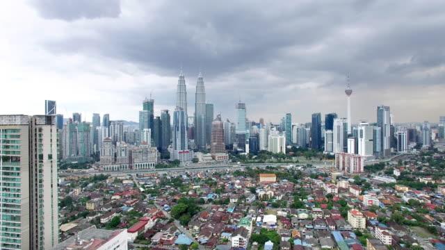 cityscape and skyline of kuala lumpur.