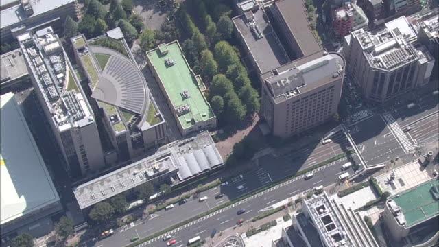 AERIAL, Cityscape Around Shibuya, Tokyo