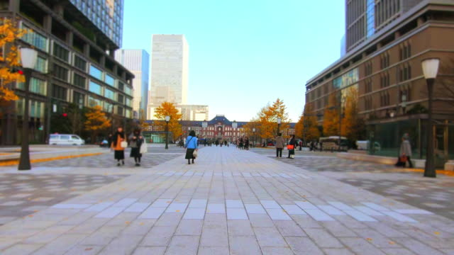 Cityscape at Tokyo Station