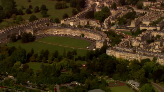 AERIAL, ZO, Cityscape, Bath, Somerset, England