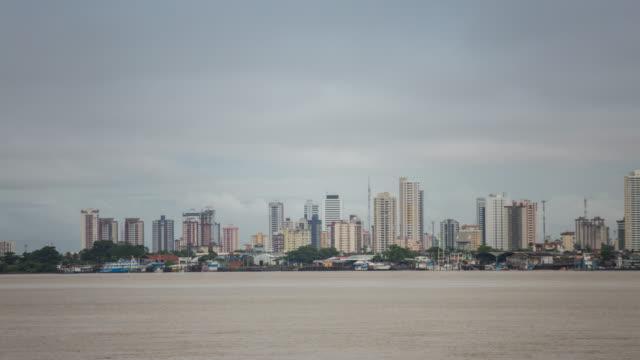 tl - cityscape - belem, brazil - belém brazil stock videos and b-roll footage