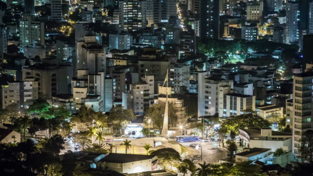 tl - cityscape - brazil - belo horizonte stock videos and b-roll footage