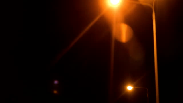cityscape from the car - street light stock videos & royalty-free footage