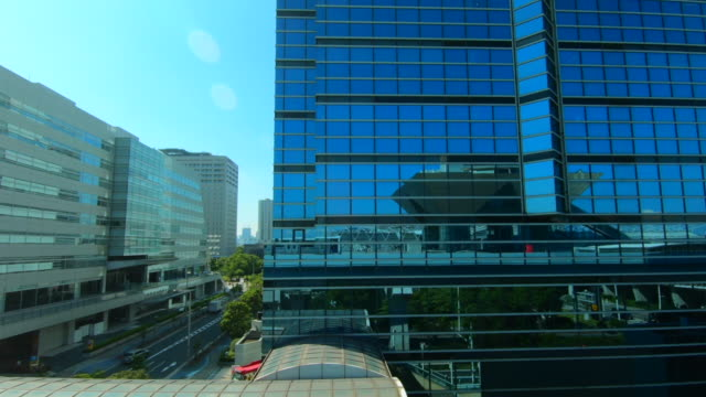 cityscape from the train window tokyo, japan - scenics stock videos & royalty-free footage