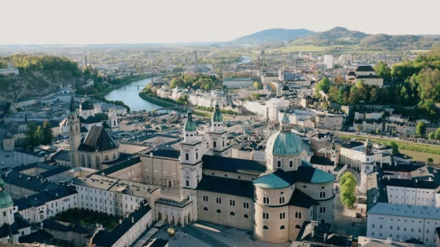 Cityscape Historic city of Salzburger Land, Austria