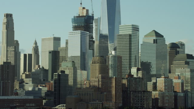 Cityscape In NYC's Lower Manhattan