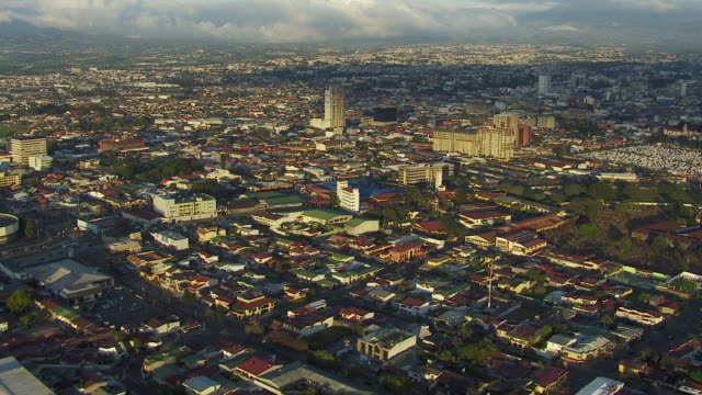 cityscape in san jose costa rica - costa rica stock videos & royalty-free footage