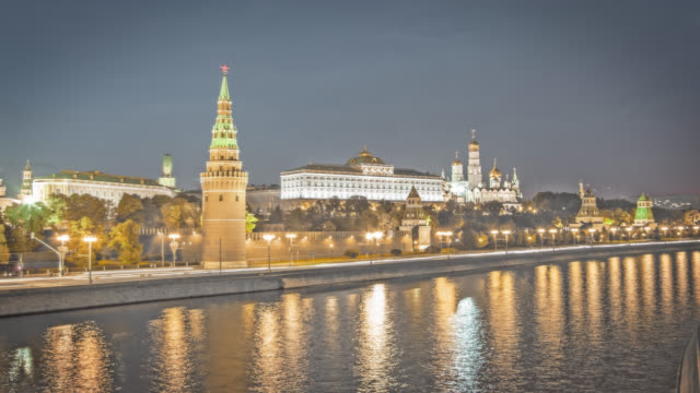 cityscape moscow - moscow russia stock videos and b-roll footage