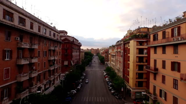 cityscape near san giovanni in laterano - rome italy stock-videos und b-roll-filmmaterial