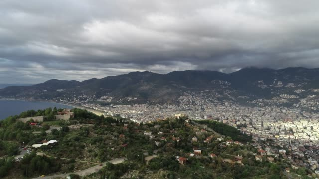 Cityscape of Alanya aerial view