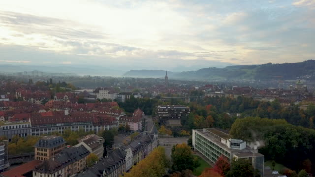 cityscape of bern, switzerland - switzerland stock videos & royalty-free footage