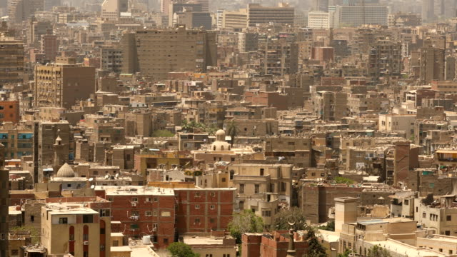 cityscape of cairo in egypt - jerusalem stock videos & royalty-free footage