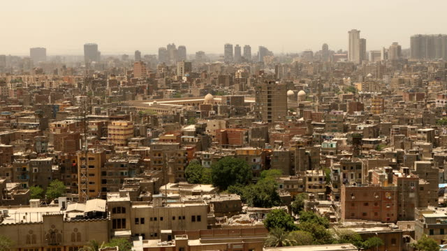 cityscape of cairo in egypt - jerusalem old city stock videos and b-roll footage