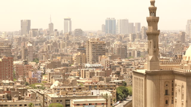 cityscape of cairo in egypt - revolution stock videos & royalty-free footage