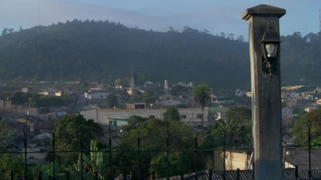 Cityscape of honduras from rooftop