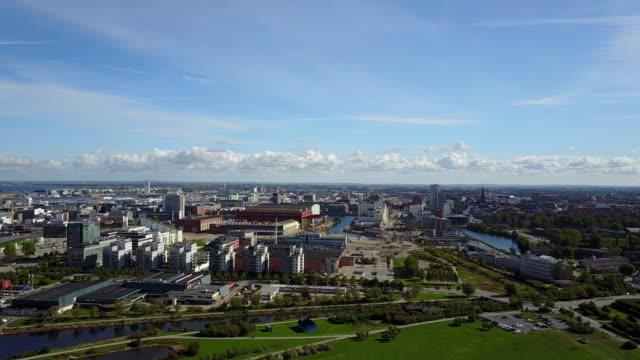 Cityscape of Malmo, Sweden