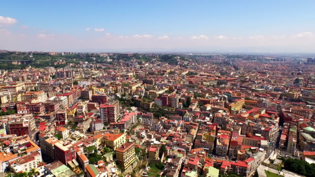 cityscape of naples - italy stock videos & royalty-free footage
