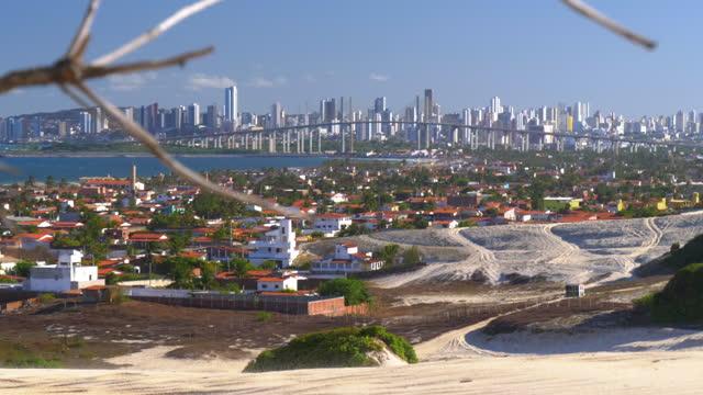 vídeos de stock e filmes b-roll de cityscape of natal, rio grande do norte, brazil - cultura sul americana