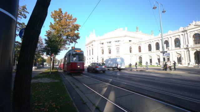 Stadtbild von Wien Österreich