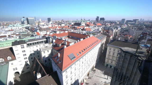 vidéos et rushes de paysage urbain de vienne en autriche - vienne autriche