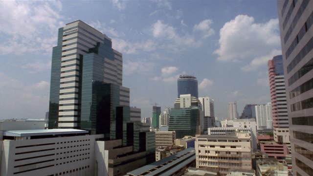 MS, Cityscape, Silom District, Bangkok, Thailand