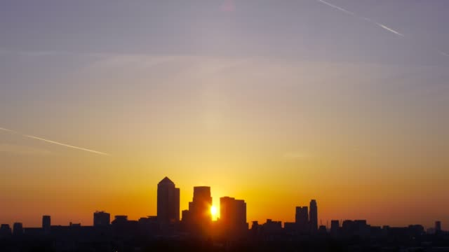cityscape sunrise - emergence stock videos & royalty-free footage