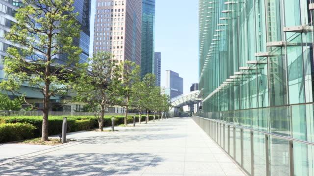cityscape - 歩道点の映像素材/bロール
