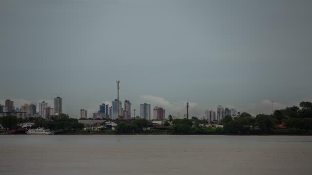 cityscape - belém brazil stock videos and b-roll footage