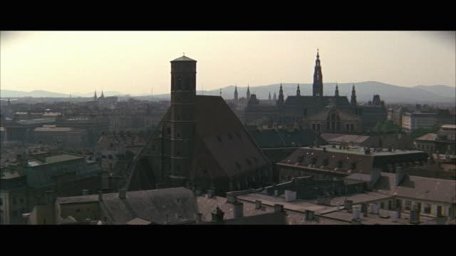 ws ha cityscape / vienna, austria - vienna austria stock videos & royalty-free footage