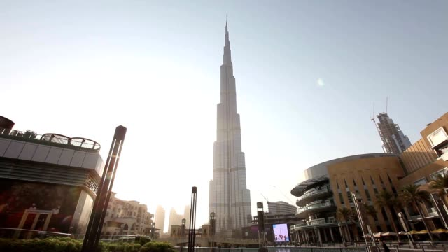 Cityscape with Bruj Khalifa (Worlds tallest man made structure)