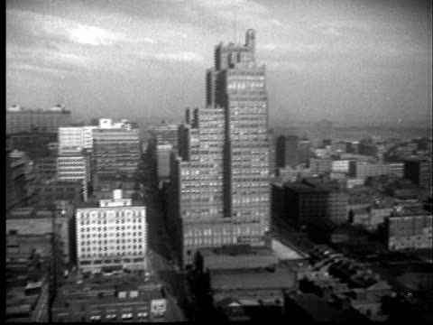 """1937 ws pan cityscape with civil courts building/ st. louis, missouri"" - 1937 stock videos and b-roll footage"