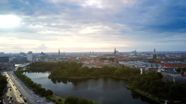 4k cityscapes, landscapes & establishers - copenhagen video stock e b–roll