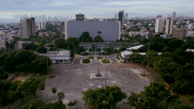 Civic Square and Palaces in Goiânia, GO, Brazil