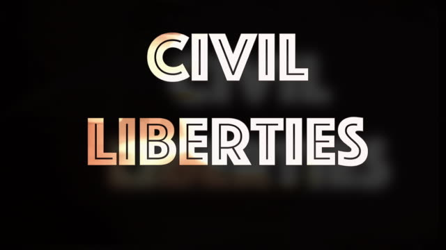 civil liberties threatened computer graphic - democracy stock videos & royalty-free footage