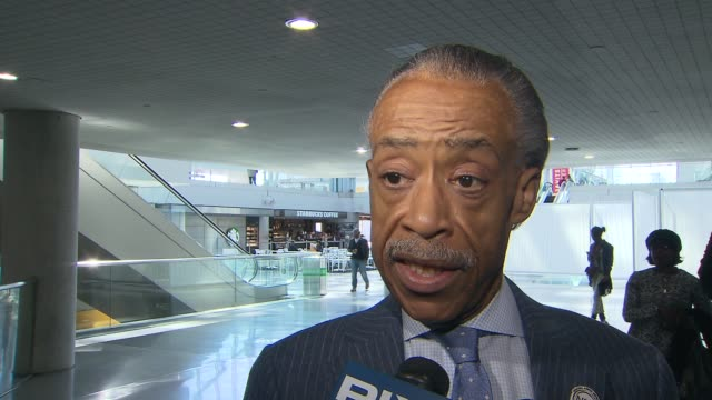 civil rights attorney sanford rubenstein is accused of raping a former national action network executive after al sharpton's birthday party - al sharpton stock videos & royalty-free footage