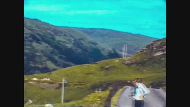 clachan landscape in scotland in 60s - beauty in nature stock videos & royalty-free footage