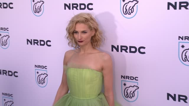 claire bernard at nrdc stand up for the planet la 2017 in los angeles ca - national resources defense council stock videos & royalty-free footage