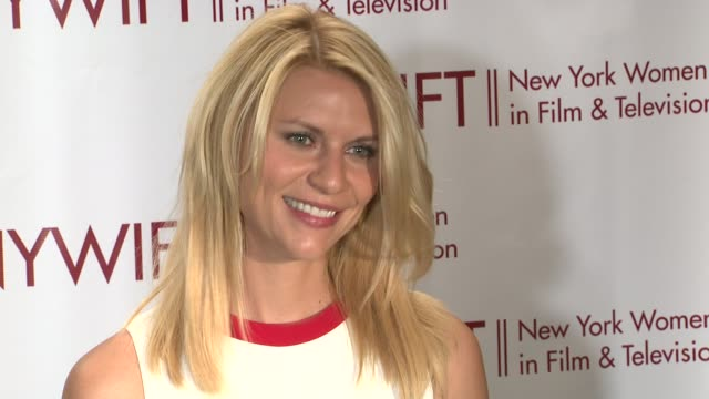 claire danes at new york women in film television 31st annual muse awards on in new york ny - claire danes stock videos and b-roll footage