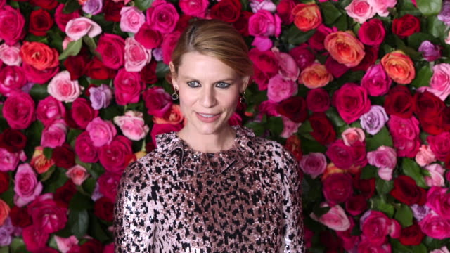 claire danes at the 2018 tony awards - red carpet at radio city music hall on june 10, 2018 in new york city. - radio city music hall stock videos & royalty-free footage