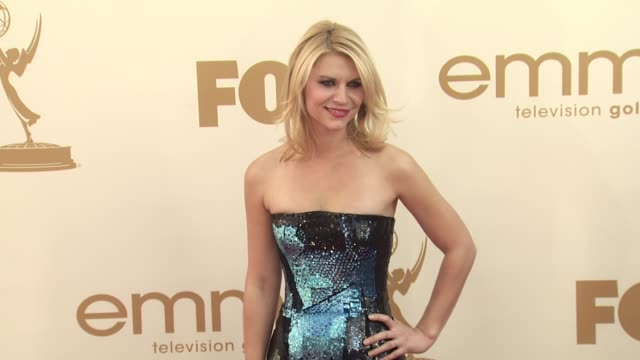 Claire Danes at the 63rd Primetime Emmy Awards Arrivals Part 2 at Los Angeles CA