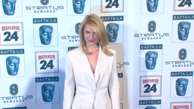 claire danes at the bafta la's 16th annual awards season tea party at beverly hills ca - claire danes stock videos and b-roll footage