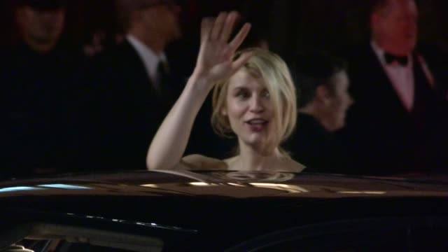 claire danes departs sag awards after party at celebrity sightings in los angeles claire danes departs sag awards after party at cel at the shrine... - claire danes stock videos and b-roll footage