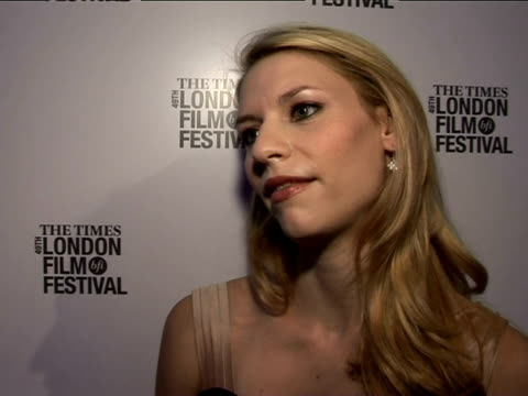 claire danes on steve martin at the the times bfi 49th london film festival shopgirl premiere on october 28 2005 - claire danes stock videos and b-roll footage