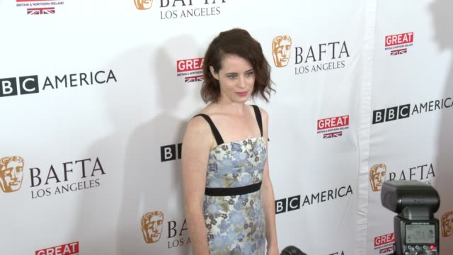Claire Foy at BAFTA LOS ANGELES BBC AMERICA TV TEA PARTY 2017 in Los Angeles CA