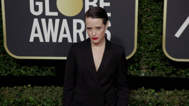 Claire Foy at the 75th Annual Golden Globe Awards at The Beverly Hilton Hotel on January 07 2018 in Beverly Hills California