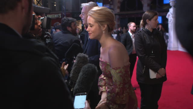 Claire Foy at 'The Crown' UK Premiere at Odeon Leicester Square on November 01 2016 in London England