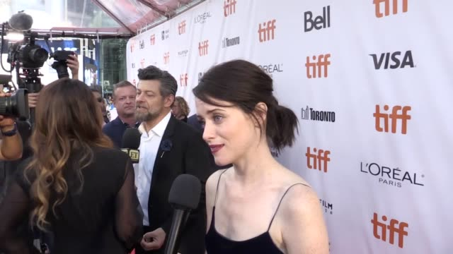 """claire foy has said she is """"dead excited"""" as she heads to the emmys with a host of british stars up for awards on television's biggest night the... - millie bobby brown stock videos & royalty-free footage"""