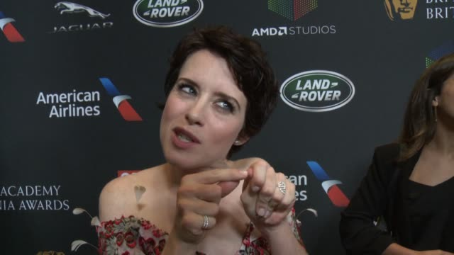 INTERVIEW Claire Foy on what it means to be receiving this honor what British actors have inspired her and the importance of BAFTA's presence in...