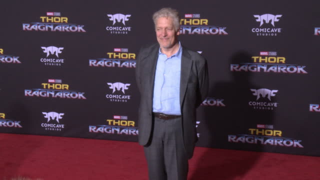 clancy brown at the thor ragnarok premiere at the el capitan theatre on october 10 2017 in hollywood california - thor: ragnarok stock videos & royalty-free footage